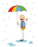Under my umbrella Stock Photo