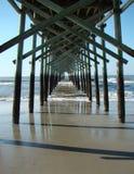 Under Ocean Pier stock images