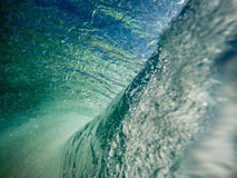 Under ocean wave Royalty Free Stock Photos