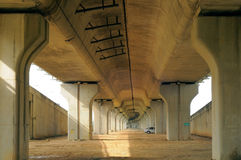 Under the overpass Stock Photography