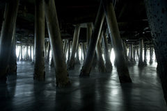 Under the Pier 1 Stock Photo