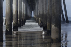 Under the Pier. Royalty Free Stock Photos