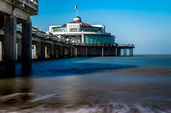Under the `pier` of `Blankenberge` stock image
