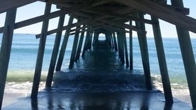 Under the Pier Stock Image