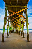 Under the Pier Royalty Free Stock Photography