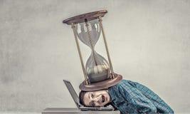 Under pressure of work Stock Photos