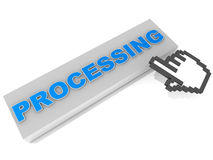 Under process Royalty Free Stock Photo