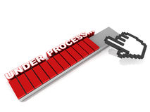 Under process Royalty Free Stock Image
