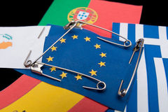 Under the protection of the European Community Stock Images