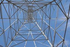 Under pylonen Royaltyfria Bilder