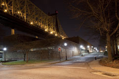 Under the Queensboro bridge Royalty Free Stock Images