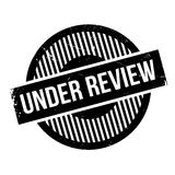 Under Review rubber stamp Royalty Free Stock Photography