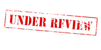 Under review Royalty Free Stock Photos