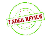 Under review Royalty Free Stock Image