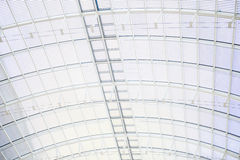 Under roof metal sheet Stock Photography