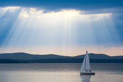 Under Sail Stock Images