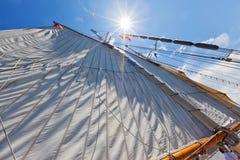 Under Sail! - Michigan, USA Stock Photos