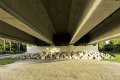 Under Sanibel Island Bridge Stock Photography