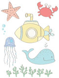 Under the Sea Royalty Free Stock Photos