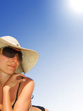 Under shinning sun royalty free stock image