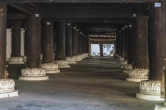 Under Shwe Yan Pyay monastery royalty free stock photography