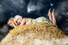 Under the stars Royalty Free Stock Image