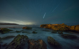 Under stjärnan i Palm Beach fotografering för bildbyråer