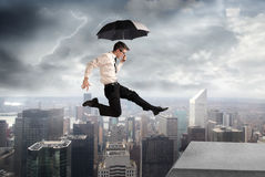Under the storm Stock Photography