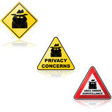 Under surveillance Stock Images