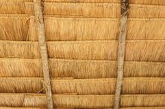 The under thatched roof in Thailand Stock Images