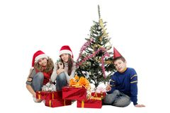 Under the tree Royalty Free Stock Photography