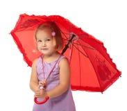 Under umbrella Stock Images
