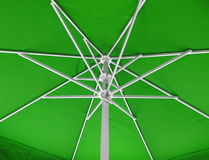 Under umbrella background - green Stock Photos
