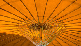 Under An Umbrella. View from beneath a northern Thai umbrella Stock Images