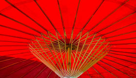 Under An Umbrella. View from beneath a northern Thai umbrella Royalty Free Stock Photo