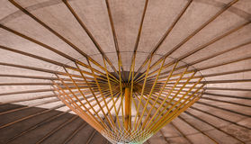 Under An Umbrella. View from beneath a northern Thai umbrella Royalty Free Stock Images
