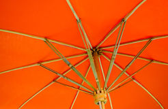 Under An Umbrella Royalty Free Stock Photos