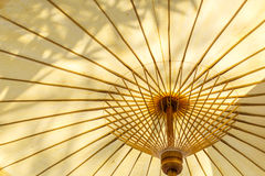 Under umbrella view Royalty Free Stock Image