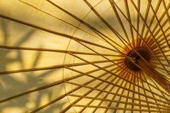 Under umbrella view Royalty Free Stock Image
