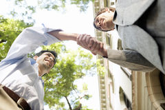 Businessmen shaking hands. Stock Image