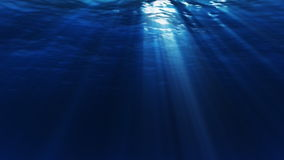 Under Water Dark Loop. Realistic, underwater scene. Seamless loop and HD stock footage