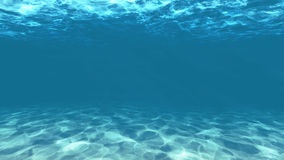 Under water. Light blue under water with Sand texture Royalty Free Stock Images