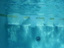 Under Water Pool Jets Stock Images