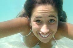 Under water Stock Photo