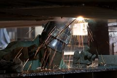 Under weld Stock Photos
