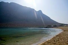 Underbar ö av Kreta - Grekland royaltyfria foton