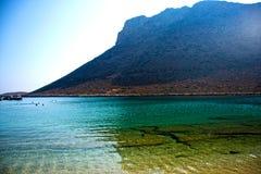 Underbar ö av Kreta - Grekland arkivfoto