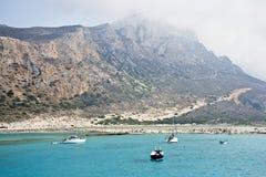 Underbar ö av Kreta - Grekland fotografering för bildbyråer