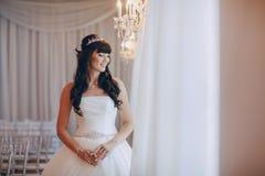 Underbar bröllopdag Arkivbilder