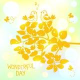 underbar dag Royaltyfria Bilder